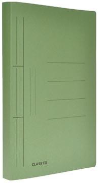 Class'ex hechtmap, ft 25 x 32 cm (voor ft A4), groen