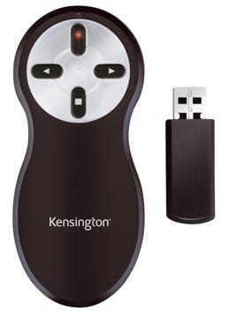 Kensington draadloze presenter met laserpointer zonder geheugenkaart