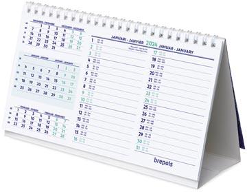 Brepols bureaukalender, 2022