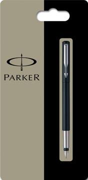 Parker Collectie Vector Standard vulpen medium, zwart, blister 1 stuk