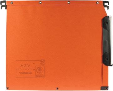 L'oblique hangmappen voor kasten AZV bodem 50 mm, oranje