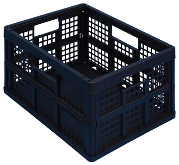 Really Useful Box plooibox 45 liter, zwart